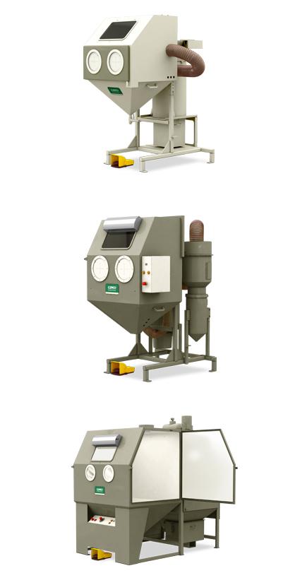 Strahlkabine - Kompaktkabinen