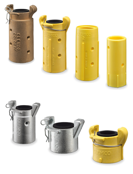 Blast Nozzle holders and couplings