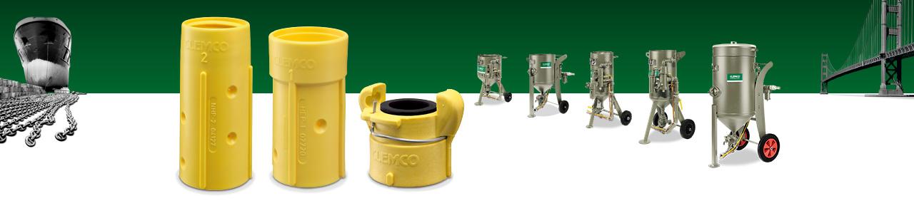 Clemco Produkte Header