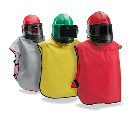 The blast helmet