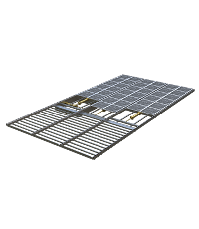 Vollbodensystem Schrapperboden