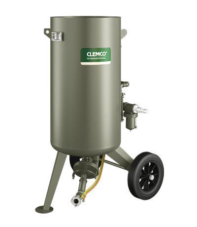 Clemco Druckstrahlkessel CADWB-2460 Einkammer