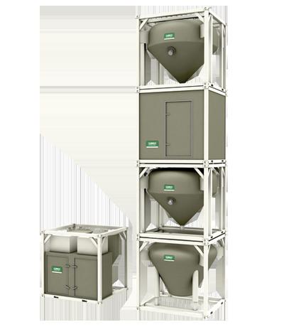 Strahlmittel-Reinigungssystem